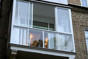 Остекление балконов в Минске
